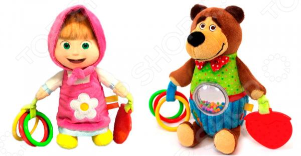 Игрушка-погремушка Simba «Маша и Медведь». В ассортименте