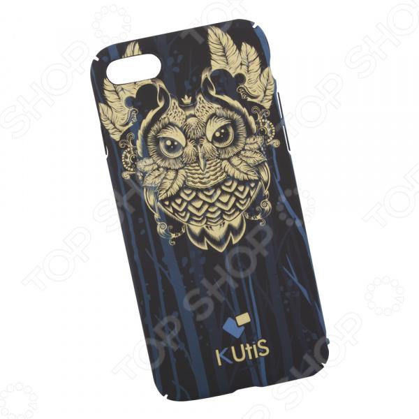Чехол для iPhone 7/8 KUtiS Animals OK-2 «Сова» аксессуар