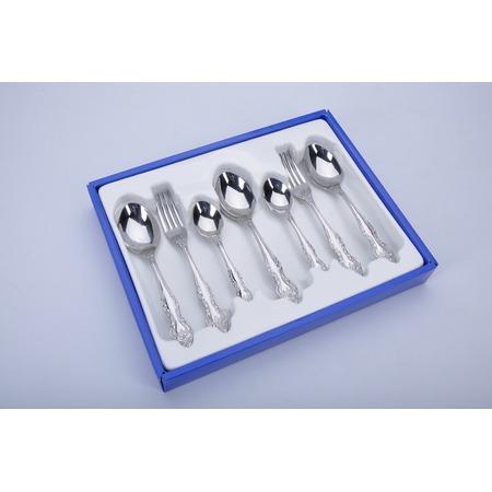 Купить Набор столовых приборов Павлово М3. Количество предметов: 36 шт