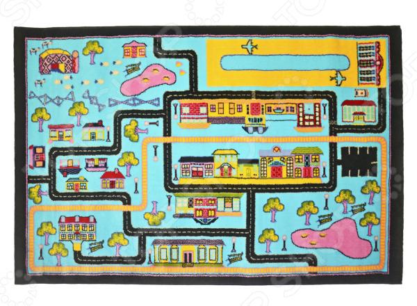где купить Ковер для детской комнаты URGAZ «Городской лабиринт» по лучшей цене