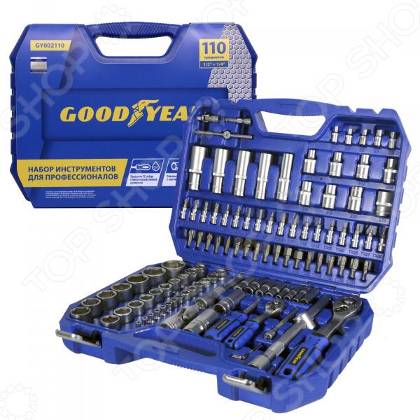 Набор инструментов Goodyear GY002110 полироль пластика goodyear атлантическая свежесть матовый аэрозоль 400 мл