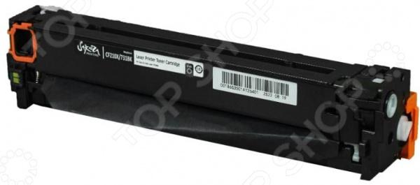 Картридж Sakura CF210X/731Bk для HP LaserJet Pro 200 color M251/275/276, Canon LBP7100Cn/7110Cw картридж nv print cf213a 731 magenta для hp lj pro m251 276 lbp7100cn 7110cw