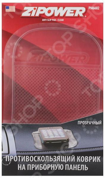 Противоскользящий коврик Zipower PM 6602 коврик на приборную панель zipower pm 6606