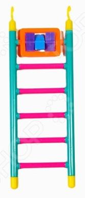 Лесенка с игрушкой для птичьей клетки Beeztees «6 шагов». В ассортименте