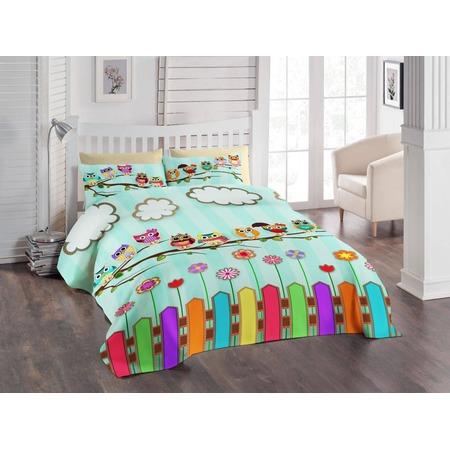 Купить Детский комплект постельного белья ТамиТекс «Совушки»