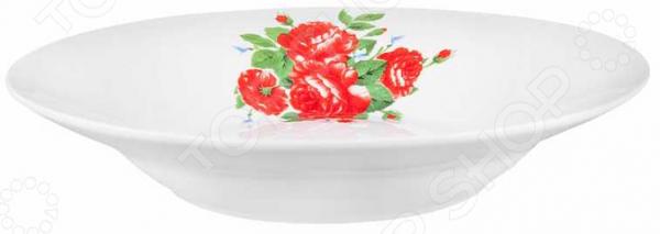 Тарелка суповая Miolla «Цветы»