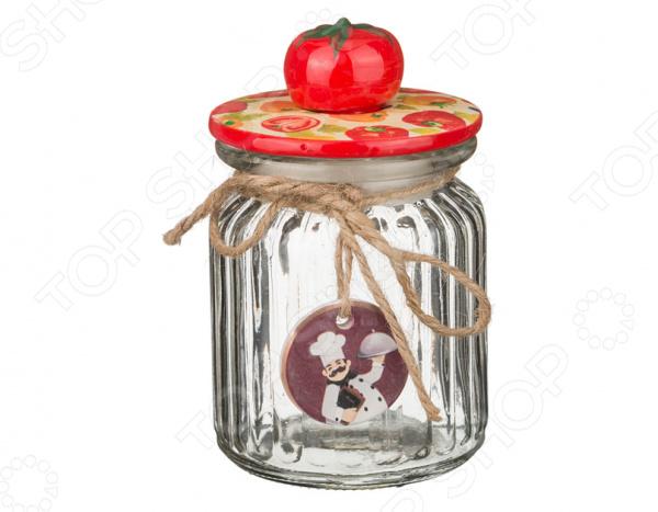 Банка для сыпучих продуктов Lefard «Томат» наборы кухонных принадлежностей lefard банка для специй сура