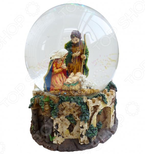Снежный шар музыкальный Crystal Deco «Рождество» 1707561 Снежный шар музыкальный Crystal Deco «Рождество» 1707561 /
