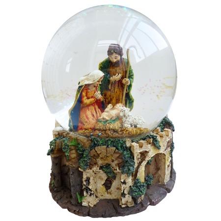 Купить Снежный шар музыкальный Crystal Deco «Рождество» 1707561