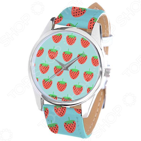 Часы наручные Mitya Veselkov «Клубнички» ART