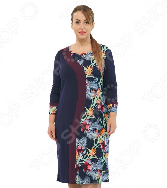 Платье Матекс «Персефона». Цвет: синий платье матекс счастливая женщина цвет синий