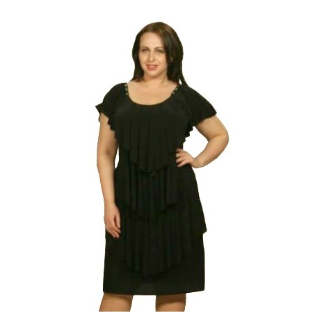 Купить Платье Klimini Мальдивы. Цвет: черный