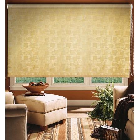 Купить Рулонная штора Эскар «Эдем». Цвет: золотистый
