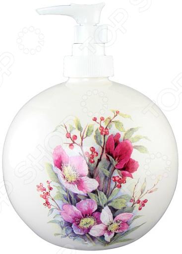 Диспенсер для мыла Elan Gallery «Букет цветов»