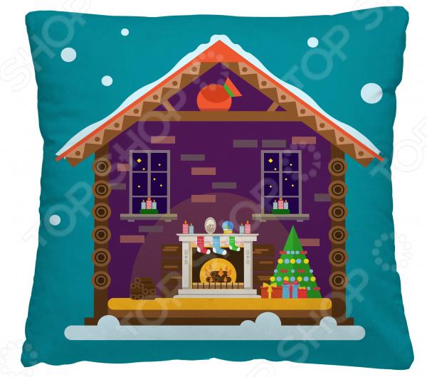 Подушка декоративная Волшебная ночь «Пряничный домик»