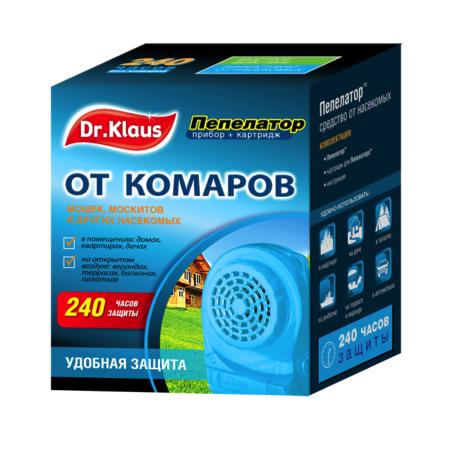 Купить Пепелатор Dr.Klaus комаров, мошек, москитов и других насекомых