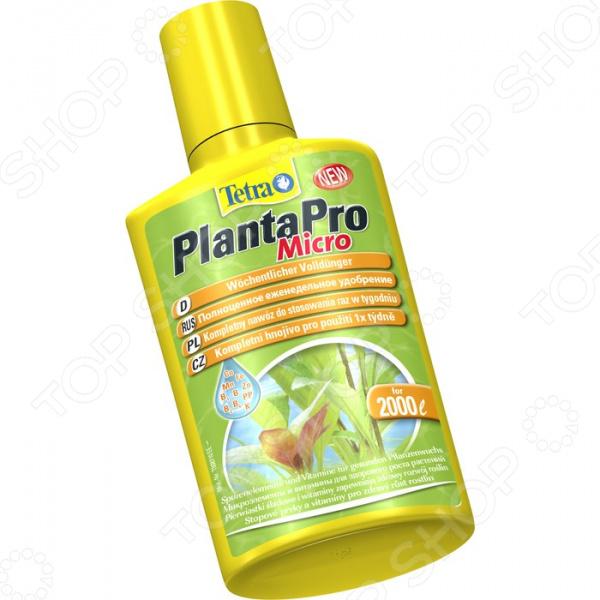 Удобрение жидкое с микроэлементами Tetra PlantaPro Micro
