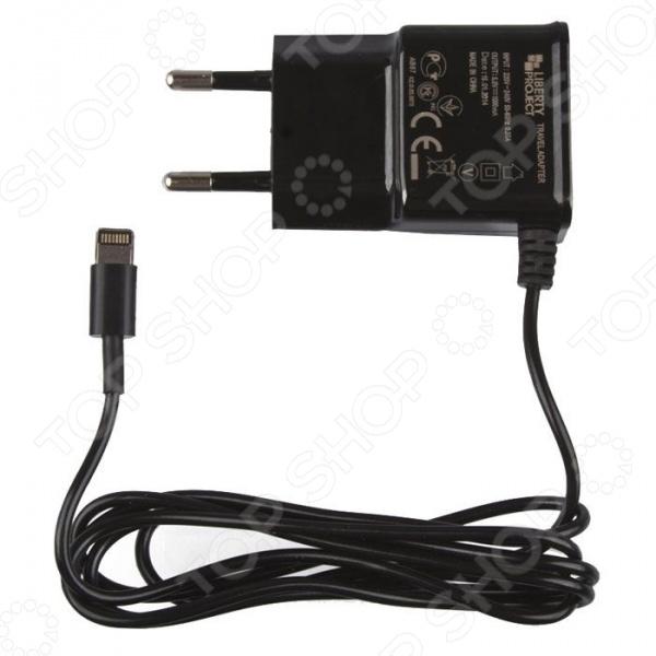 Устройство зарядное сетевое LP 1 А для Apple 8 pin автомобильное сетевое зу deppa 11151 для apple с разъемом lightning 8 pin черный