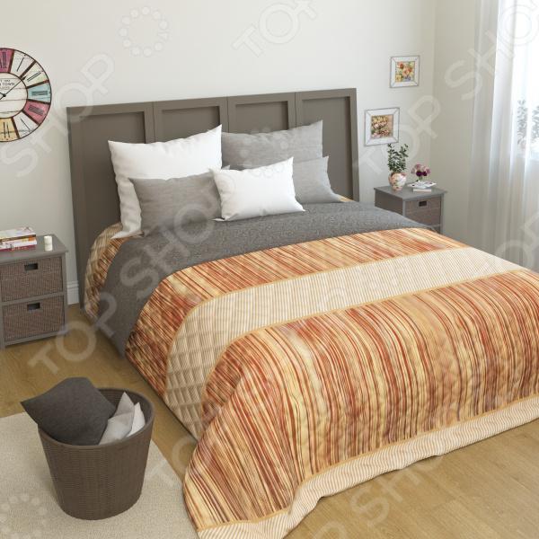 Покрывало стеганое Сирень «Жокет» желтое покрывало на кровать