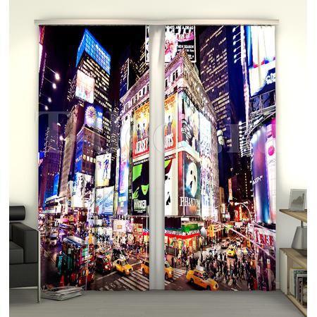 Купить Фотошторы Сирень «Таймс-сквер NY»
