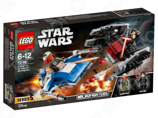 Конструктор игровой LEGO Star Wars «Истребитель типа A против бесшумного истребителя СИД» конструктор lego star wars бой пехотинцев первого ордена против спидера на лыжах 75195