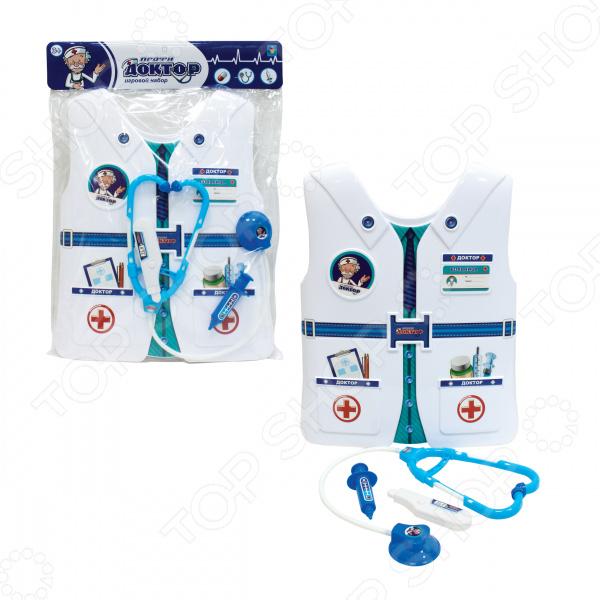 Набор доктора игрушечный 1 Toy «Профи с жилетом»