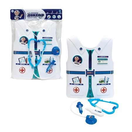 Купить Набор доктора игрушечный 1 Toy «Профи с жилетом»