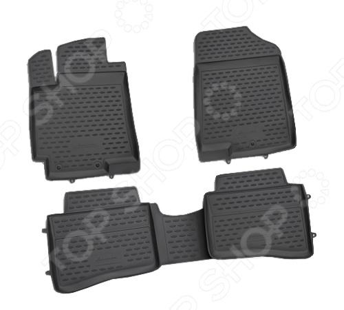 Комплект ковриков в салон автомобиля Novline-Autofamily KIA Optima 2011-2014 novline autofamily kia bongo 2011