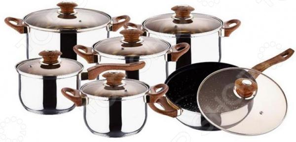 Набор посуды Wellberg WB-1107