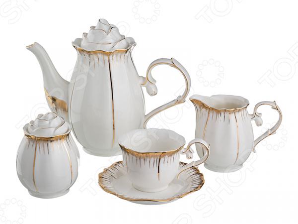 Чайный сервиз Lefard Цветочная симфония 590-003 чайный набор lefard цветочная симфония 590 004