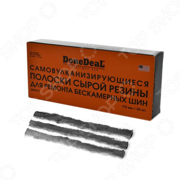 Жгуты самовулканизирующиеся для ремонта шин Done Deal DD 0371 набор для ремонта камер и надувных резиновых изделий done deal dd 0332