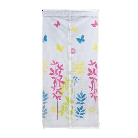 Купить Сетка антимоскитная на магнитах «Капуто-Москито». Рисунок: цветы. Цвет: бежевый