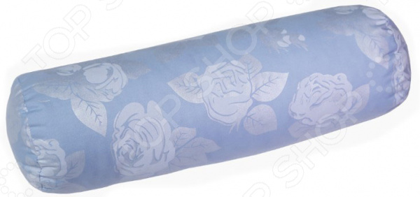 Подушка-валик Био-Текстиль «Розы» подушка ортопедическая для шеи био текстиль подкова
