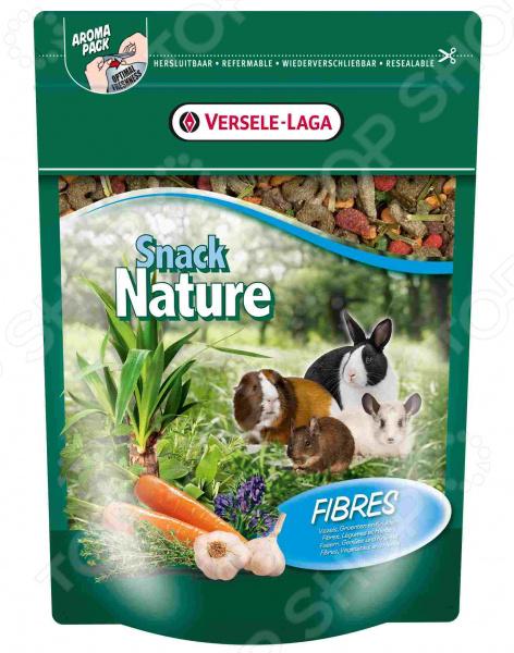 Корм для грызунов Versele-Laga Nature Snack Fibres корм для птиц versele laga budgies для волнистых попугаев 1кг