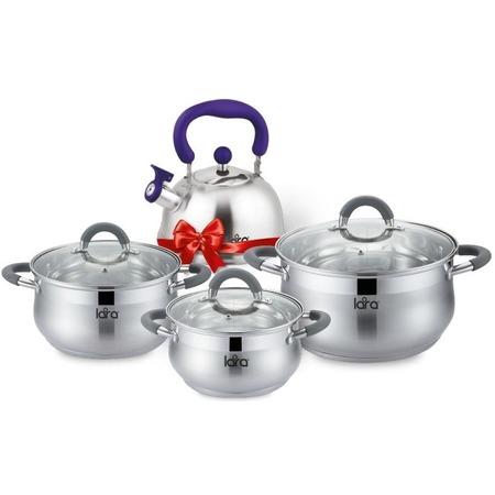 Купить Набор посуды LARA Bell Promo LR02-92