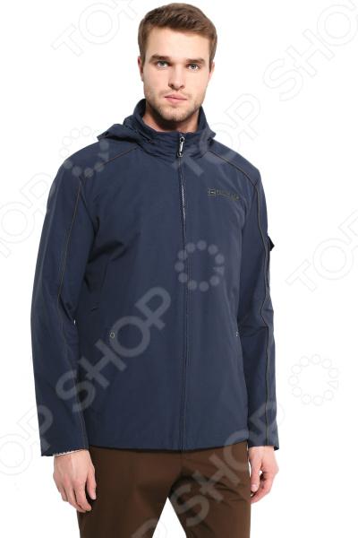 B17-21008, темно-синяя Куртка Finn Flare B17-21008. Цвет: темно-синий