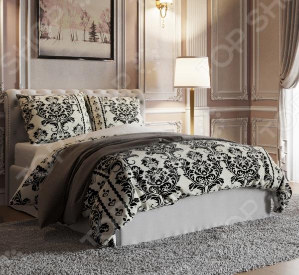 Комплект постельного белья Стильный дом «Арабески» фотоштора стильный дом фотошторы стильный дом романтичный букет
