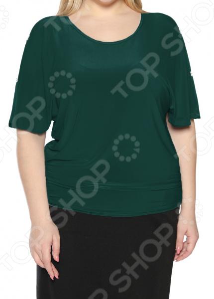 Блуза Pretty Woman «Фруктовый заряд». Цвет: зеленый