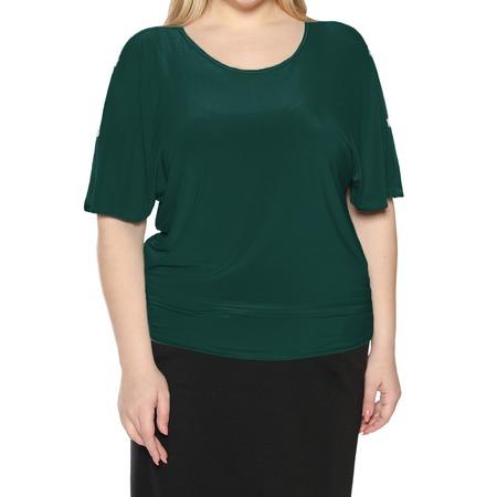 Купить Блуза Pretty Woman «Фруктовый заряд». Цвет: зеленый