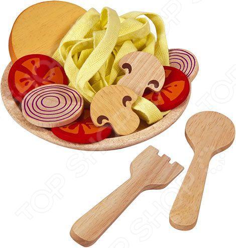 Игровой набор для ребенка Plan Toys «Спагетти с овощами»
