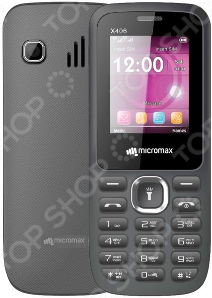 Мобильный телефон Micromax X406 мобильный телефон micromax x406