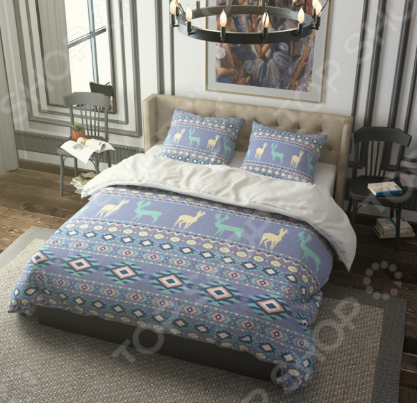 Комплект постельного белья Стильный дом «Северные мотивы» комплект постельного белья двуспальный tango twill 57 50