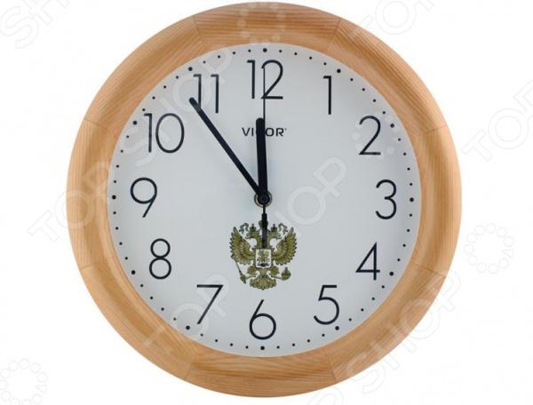 Часы настенные Vigor Д-30 «Герб» часы vigor д 29 розовые розы