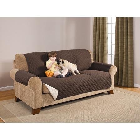 Накидка на трехместный диван двухсторонняя Медежда «Йорк»