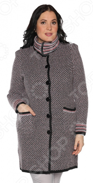 Пальто Milana Style «Нарядная осень». Цвет: розовый платье milana style milana style mi038ewxjv28
