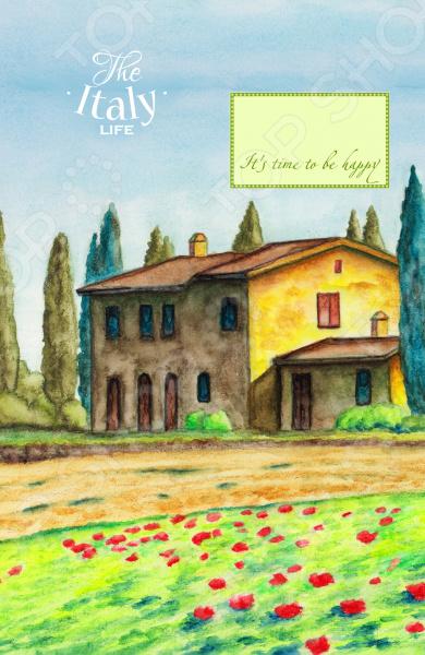 Блокноты. Тетради Эксмо 978-5-699-87837-6 Блокнот. Домик в Италии