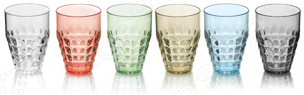 Набор бокалов Guzzini Tiffany набор бокалов crystalex ангела оптика отводка зол 6шт 400мл бренди стекло