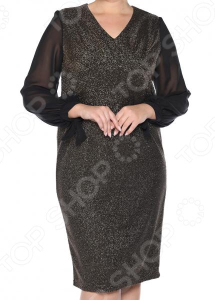 Платье VEAS «Бурлеск». Цвет: золотой lovaru ™ 2017 платье для женщин платье вечернее платье для женщин