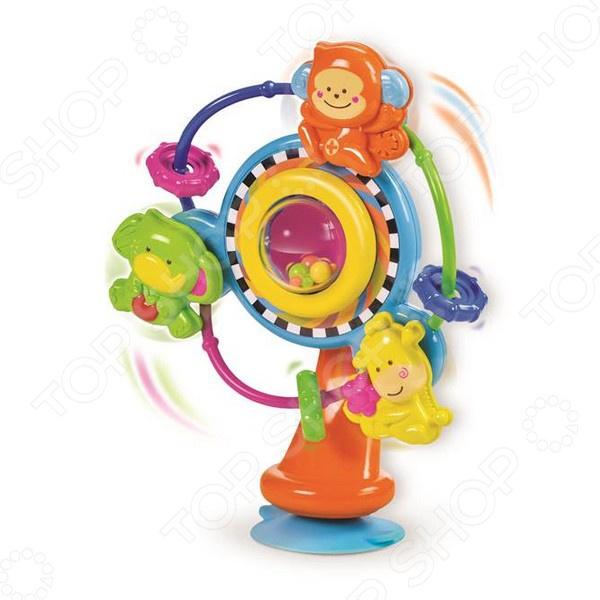 Карусель музыкальная на присоске B kids 1013065 игрушка черепашка b kids