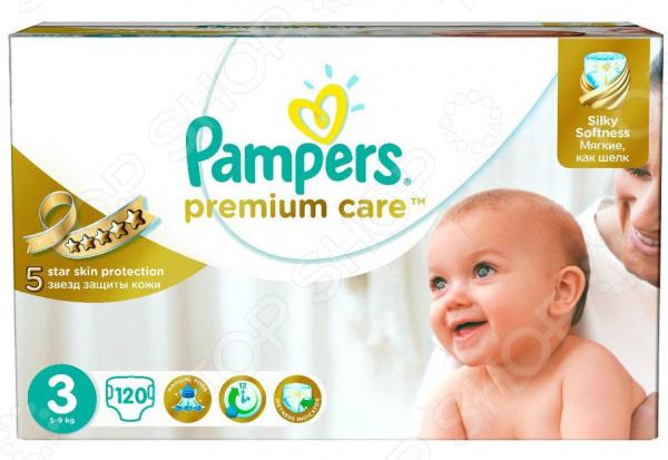 Подгузники Pampers Premium Care 5-9 кг, размер 3, 120 шт.